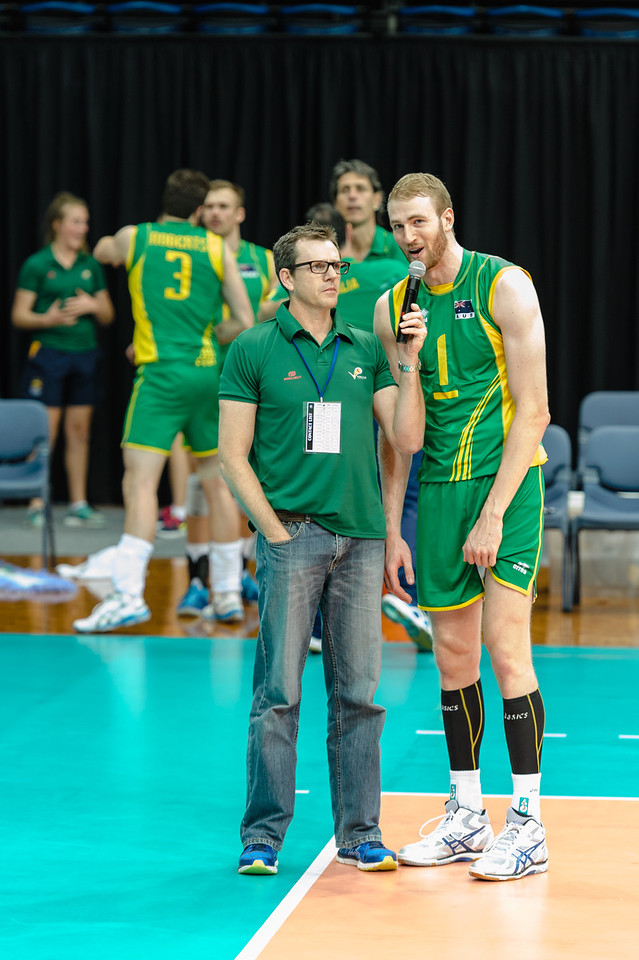 Post match interview of Australian captain, Aidan Zingel.