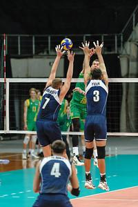 Thomas Edgar (Australia) & Dmitriy Gorbatkov, Anton Yudin (Kazakhstan)