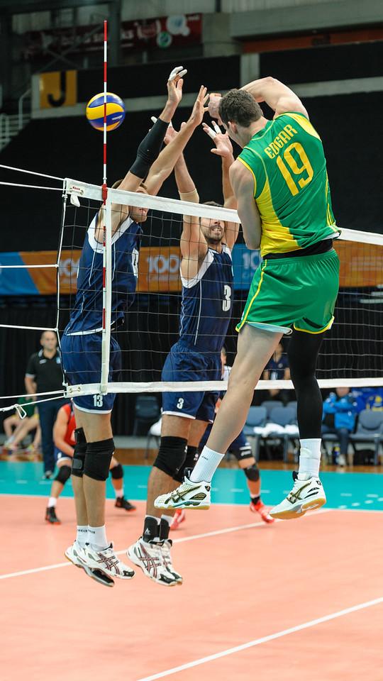 Thomas Edgar (Australia) & Vitaliy Erdshtein, Anton Yudin (Kazakhstan)
