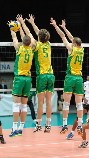 Adam White, Travis Passier, Greg Sukochev (Australia)