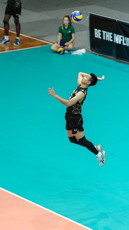 High toss jump serve by Boudang (Thailand)