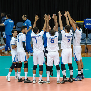 Kuwait team introductions