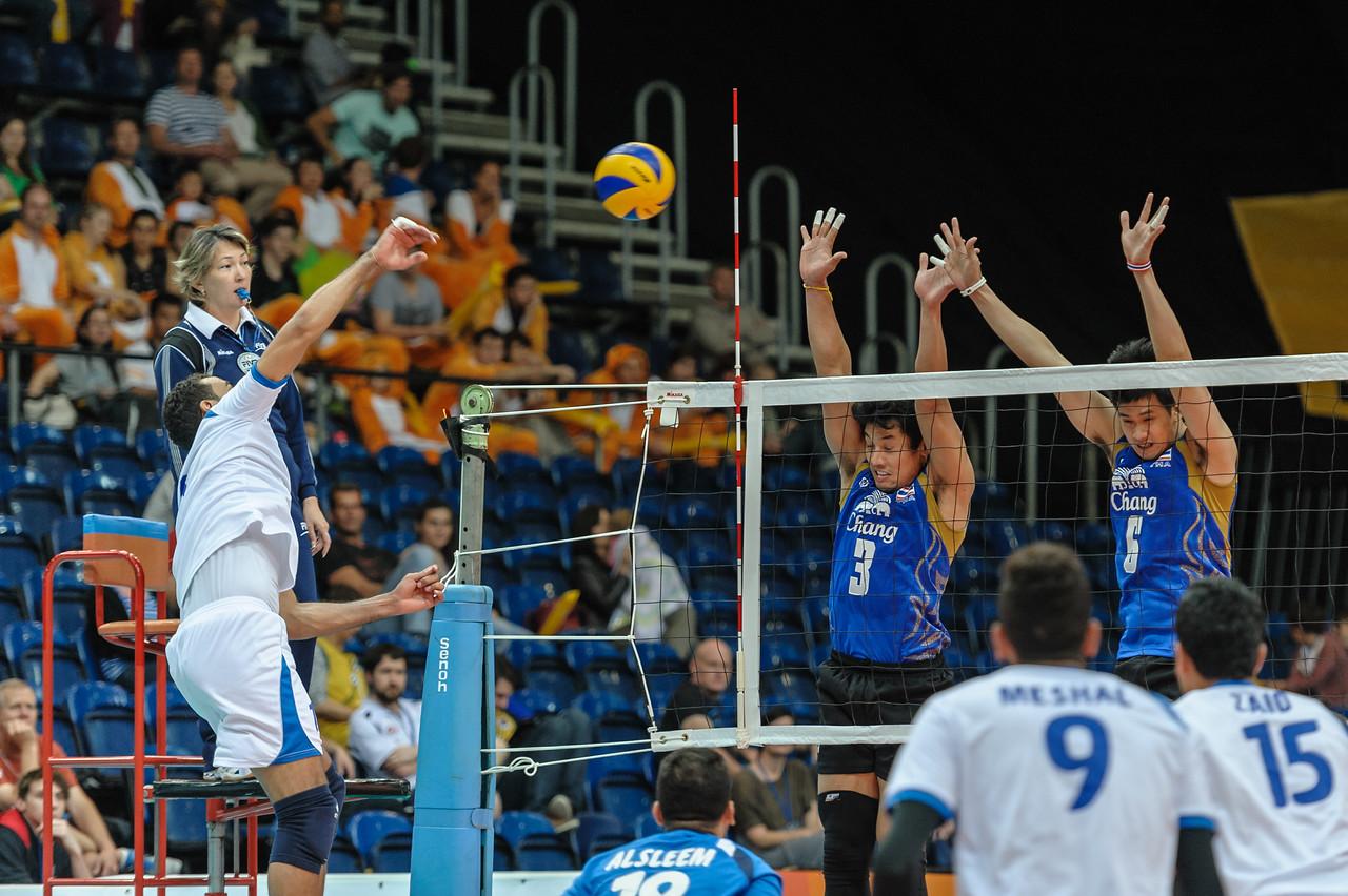 Mansour Abdullah (Kuwait) & Wanchai Tabwises and Shotivat Tivsuwan (Thailand)