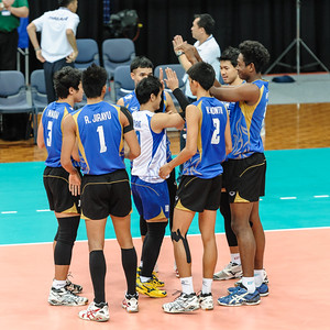 Thailand team introductions