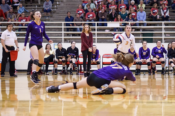 2015-11-03 - Lady Panther Volleyball at Wimberly