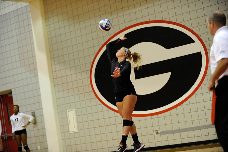 Cassidy Anderson (20)  UGA Volleyball Team (Photo by John Kelley / Georgia Sports Communication)