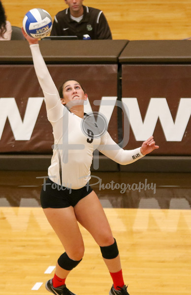 Brown outside hitter Shirin Tooloee (9)