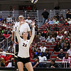 Georgia's Meghan Donovan (22) during the Bulldogs' match with Alabama at the Ramsey Center in Athens, Ga., on Friday, Sept. 30, 2016. (Photo by Cory A. Cole)