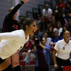 Georgia's Amanda Dachs (2) during the Bulldogs' match with Alabama at the Ramsey Center in Athens, Ga., on Friday, Sept. 30, 2016. (Photo by Cory A. Cole)