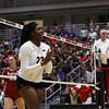 Georgia's Desiree McCray (23) during the Bulldogs' match with Alabama at the Ramsey Center in Athens, Ga., on Friday, Sept. 30, 2016. (Photo by Cory A. Cole)