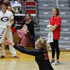 Georgia's Cassidy Anderson (20) during the Bulldogs' match against Ole Miss at Ramsey Center in Athens, Ga., on Sunday, Nov. 20, 2016. (Photo by Cory A. Cole)