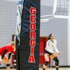 The Georgia net during the Bulldogs' match with Texas A&M at the Ramsey Center in Athens, Ga., on Friday, October 21, 2016. (Photo by John Paul Van Wert)