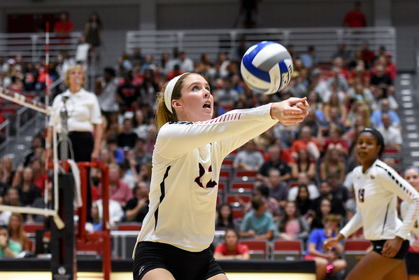Meghan Donovan (22)  -  UGA Volleyball Team -  (Photo by David Barnes / Georgia Sports Communication)