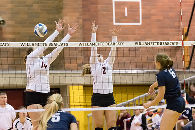 Willamette Bearcats vs George Fox Bruins
