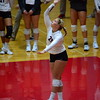 Georgia's Cassidy Anderson (20) during the Bulldogs' match against Auburn at the Ramsey Student Center in Athens, Ga. on Sunday, Sept. 24, 2017. (Photo by Caitlyn Tam)