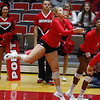 Georgia's Cassidy Anderson (20) during the Bulldogs' match against UCF at Ramsey Student Center in Athens, Ga., on Wednesday, Nov. 29, 2017. (Photo by Steffenie Burns)