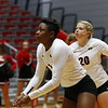 Georgia's T'ara Ceasar (1) during the Bulldogs' match against Alabama A&M at Ramsey Student Center in Athens, Ga., on Tuesday, Nov. 28, 2017. (Photo by Steffenie Burns)