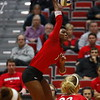 Georgia's T'ara Ceasar (1) during the Bulldogs' match against UCF at Ramsey Student Center in Athens, Ga., on Tuesday, Nov. 28, 2017. (Photo by Steffenie Burns)