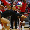 Georgia's Kendall Glover (8) during the Bulldogs' match against UCF at Ramsey Student Center in Athens, Ga., on Wednesday, Nov. 29, 2017. (Photo by Steffenie Burns)
