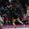 Georgia's Kendall Glover (8) during the Bulldogs' volleyball match against Missouri at Stegeman Coliseum in Athens, Ga., on Sunday, Oct. 29, 2017. (Photo by Steffenie Burns)