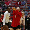Georgia's Kendall Glover (8) during the Bulldogs' match against Alabama A&M at Ramsey Student Center in Athens, Ga., on Tuesday, Nov. 28, 2017. (Photo by Steffenie Burns)