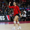 Georgia's Kendall Glover (8) during the Bulldogs' volleyball match against Mississppi State at Stegeman Coliseum in Athens, Ga., on Friday, Nov. 3 2017. (Photo by Steffenie Burns)