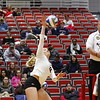 Georgia's Katie Houser (12) during the Bulldogs' match against Alabama A&M at Ramsey Student Center in Athens, Ga., on Tuesday, Nov. 28, 2017. (Photo by Steffenie Burns)