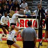Georgia's Anna Kate Karstens (11) during the Bulldogs' match against Auburn at the Ramsey Student Center in Athens, Ga. on Sunday, Sept. 24, 2017. (Photo by Caitlyn Tam)