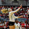 Georgia's Anna Kate Karstens (11) during the Bulldogs' match against Alabama at the Ramsey Student Center in Athens, Ga. on Friday, Sept. 22, 2017. (Photo by Caitlyn Tam)