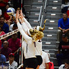 Georgia's Anna Kate Karstens (11) and Meghan Donovan (22) during the Bulldogs' match against Alabama at the Ramsey Student Center in Athens, Ga. on Friday, Sept. 22, 2017. (Photo by Caitlyn Tam)