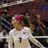 Georgia's Kendall Kazor (7) during the Bulldogs' match against Arkansas at Ramsey Center in Athens, Ga., on Friday, Nov. 18, 2016. (Photo by Cory A. Cole)