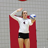 Georgia's Sarah Lagler-Clark (4) during the Bulldogs' match against Ole Miss at Ramsey Center in Athens, Ga., on Sunday, Nov. 20, 2016. (Photo by Cory A. Cole)