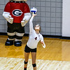 Georgia's Sarah Lagler-Clark (4) during the Bulldogs' match with Texas A&M at the Ramsey Center in Athens, Ga., on Friday, October 21, 2016. (Photo by John Paul Van Wert)