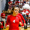 Georgia's Sarah Lagler-Clark (4) during the Bulldogs' game against Bethune Cookman at the Ramsey Center in Athens, Ga. on Friday, Sept. 16, 2016. (Photo by John Paul Van Wert)