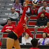 Georgia's Rachel Ritchie (24) during the Bulldogs' match against UCF at Ramsey Student Center in Athens, Ga., on Wednesday, Nov. 29, 2017. (Photo by Steffenie Burns)