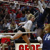 Georgia's Rachel Ritchie (24) during the Bulldogs' volleyball match against Ole Miss at Ramsey Student Center in Athens, Ga., on Friday, Nov. 10 2017. (Photo by Steffenie Burns)