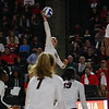 Georgia's Rachel Ritchie (24) during the Bulldogs' volleyball match against Arkansas at Stegeman Coliseum in Athens, Ga., on Wednesday, Oct. 25, 2017. (Photo by Steffenie Burns)