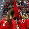 Georgia's Kianna Young (17) during the Bulldogs' match against UCF at Ramsey Student Center in Athens, Ga., on Wednesday, Nov. 29, 2017. (Photo by Steffenie Burns)