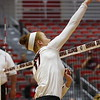Georgia's Kianna Young (17) during the Bulldogs' match against Alabama A&M at Ramsey Student Center in Athens, Ga., on Tuesday, Nov. 28, 2017. (Photo by Steffenie Burns)