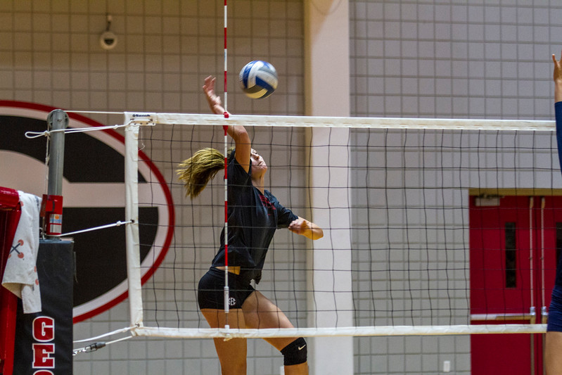 Kendall Kazor (7) UGA Volleyball Team  (Photo by John Paul Van Wert / Georgia Sports Communication)