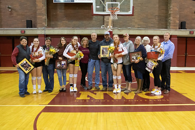 Willamette Bearcats Volleyball Senior Night