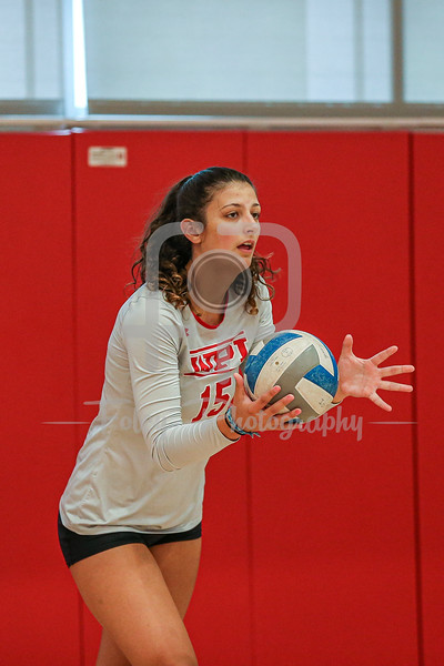 2019 WPI Volleyball Practice