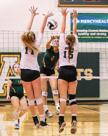 Amherst vs Westlake VBall