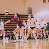 Menlo-Atherton High School Girl's Varsity Volleyball vs.Burlingame.