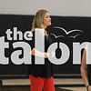 The Lady Eagles Volleyball teams take on Springtown  Springtown High School in Springtown, TX, on September 21, 2018. (Lauren Kraus / The Talon News)