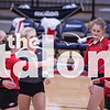 The Eagles take on a team from Oklahoma in a volleyball tournament at Northwest High School on Aug. 17, 2017 in Justin, Texas. (Christopher Piel/The Talon News)
