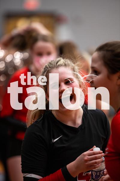 The Eagles take a second playoff win against Iowa Park at Jacksboro High School on November 2, 2020. (Nicholas West | The Talon News)