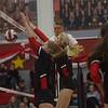 Lady Eagles Volleyball play in Eagles vs. Bridgeport at Argyle High School, Argyle, Texas Oct. 11, 2019. (Laini Ledet | The Talon News)