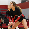 Lady Eagles Volleyball play in Eagles vs. Bridgeport at Argyle High School, Argyle, Texas Oct. 11, 2019. (Sloan Dial | The Talon News)