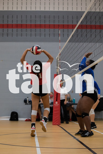 The Freshman Eagles defeat the Van Alstyne Panthers at Argyle High School on August 25, 2020. (Katie Ray | The Talon News)